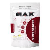 Super Gainers Anticatabolic  - 3.000g Baunilha - Max Titanium -