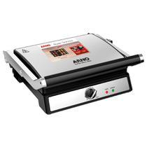 Super grill inox 127v arno 2100116273 -