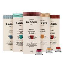 Super Kit Cápsulas Baggio Aroma - Compatível com Nespresso -