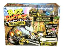 Super Kit Com Pista Arrancada Bugs Racing Completa - Dtc -