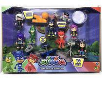 Super Kit de Bonecos PJ Masks - DTC 4663 -