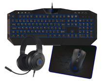 Super Kit Gamer 4X1 Teclado/Mouse/MousePad/Headset TPC-050R - Hoopson