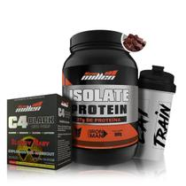 Super Kit Isolate Protein + C4 Black Beta Pump - New Millen