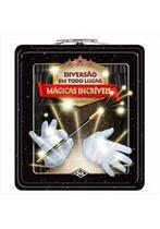 Super Kit Mágicas Incríveis Linda Lata Estojo Edição Luxo!! - Editora Dcl