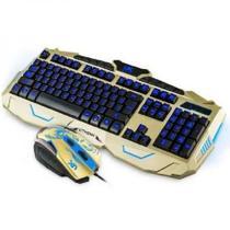 Super Kit Teclado E Mouse B-max V-100 (preto) -