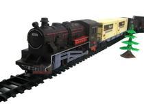 Super Locomotiva 40 Pçs Trenzinho Ferrorama Trem Braskit -