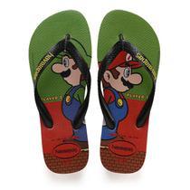 Super Mario BROS 31/2 Morango - Havaianas