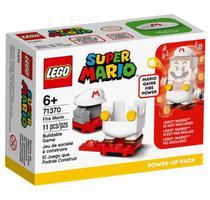 Super Mario de Fogo Power Up Lego -