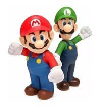 Super Mario e Luigi - kit 2 bonecos grandes - Nintendo