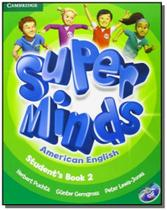 Super minds american english 2 sb with dvd-rom - Cambridge -