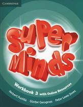 Super minds british 3 wb with online resources - 1st ed - Cambridge university