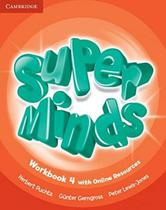 Super minds british 4 wb with online resources - 1st ed - Cambridge university