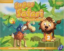 Super safari american english 2 sb with dvd-rom - 1st ed - Cambridge university