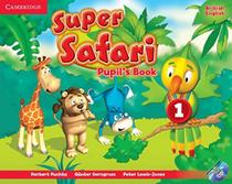 Super safari british english 1 pb with dvd-rom - 1st ed - Cambridge university