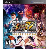 Super Street Fighter IV: Arcade Edition - PS3 - Capcom
