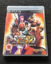 Super Street Fighter IV - Ps3 - Capcom