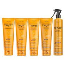 Super Trivitt Home Care (Mascara + Leavein + Fluído) -
