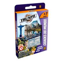 Super Trunfo Cidades do Mundo - Jogo de Cartas - Grow -
