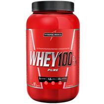 Super whey 100 pure (907g) sabor banana - integralmedica