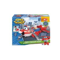 Super wings playset e jett avião transformer gigante 83417 - Fun