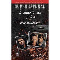 Supernatural Livro O Diario De John Winchester - Gryphus -