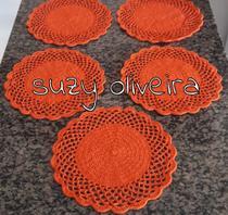 Supla suporte prato croche 1 - Suzy Oliveira