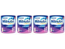 Suplemento Alimentar Infantil Milnutri  - Baunilha Complete 800g 4 Unidades