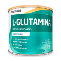Suplemento Aminoácido L-Glutamina 300g 100% Pura Loja Maxinutri -