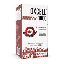 Suplemento de Ômega 3 Oxcell 1000 para Cães e Gatos - Avert