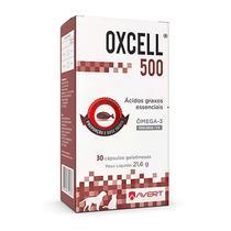 Suplemento de Ômega 3 Oxcell 500 para Cães e Gatos - Avert
