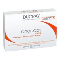 Suplemento de Vitaminas Ducray Anacaps Active+ 30 Cápsulas -