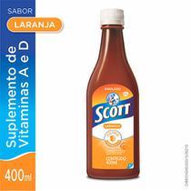 Suplemento de Vitaminas Scott Sabor Laranja 400ml -