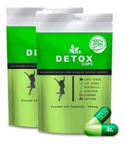 Suplemento Detox Caps - 2 Meses De Tratamento C/ Nota Fiscal - New Life