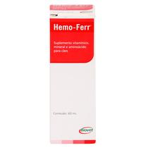Suplemento Hemo-Ferr Líquido Biovet 60ml -
