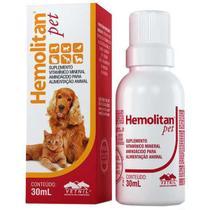Suplemento Hemolitan Pet Gotas - Vetnil