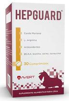 Suplemento Hepguard Avert 30 Comprimidos -