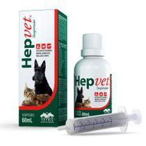Suplemento Hepvet Suspensão 60 ML - Vetnil