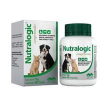 Suplemento Nutralogic Pet Para Cães Vetnil 60 Comprimidos -