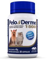 Suplemento Pêlo e Derme 1500 mg - Vetnil