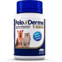 Suplemento Vetnil Pelo & Derme 1500 com 60 Cápsulas - 90 g -