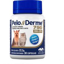 Suplemento Vetnil Pelo & Derme DHA + EPA 750 -