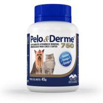 Suplemento Vetnil Pelo E Derme 750 Cães E Gatos 60 Cápsulas -