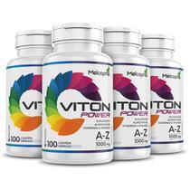 Suplemento Vitaminico  A-Z Viton Power 4x 100 cápsulas 1000mg - Melcoprol