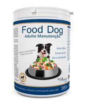 Suplemento vitaminico food dog adulto manutencao 500g validade 08/21 - Botupharma