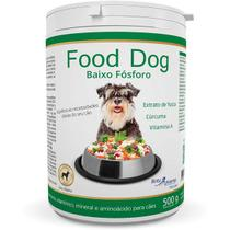 Suplemento vitaminico food dog baixo fosforo 500g validade 07/21 - Botupharma