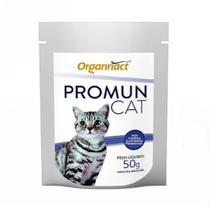 Suplemento Vitamínico Organnact Promun Cat Pó 50g -