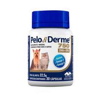 Suplemento Vitamínico Pelo e Derme Vetnil 750mg 30 capsula -