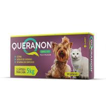Suplemento Vitamínico Queranon Small Size Para Cães e Gatos 30 Caps - Avert