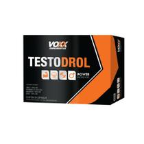 Suplemento Vitamínico Testo Drol Voxx 30 Comprimidos -