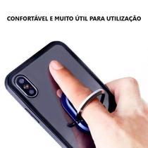 Suporte Anel De Dedo Universal Veicular Suporte Prata - Hicucoo